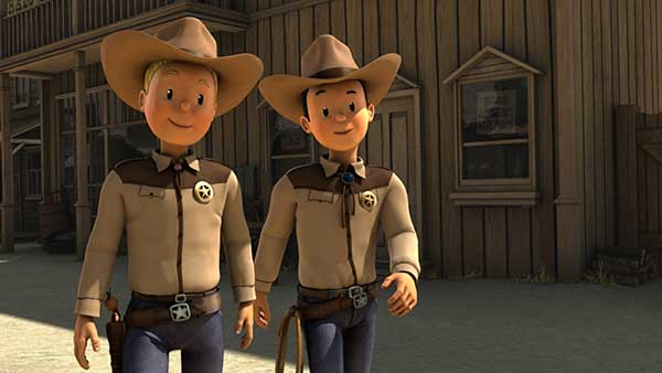 Suske en Wiske en de Texas rakkers