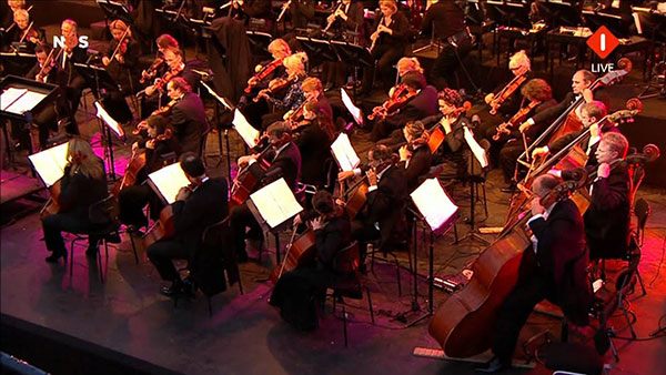 Nationale 5 mei viering 2012: Amstelconcert
