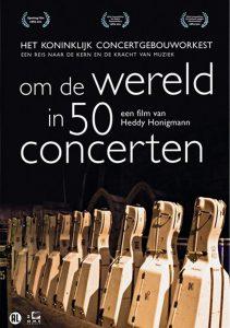 Affiche Om de wereld in 50 concerten