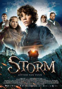 Affiche Storm - Letters van vuur