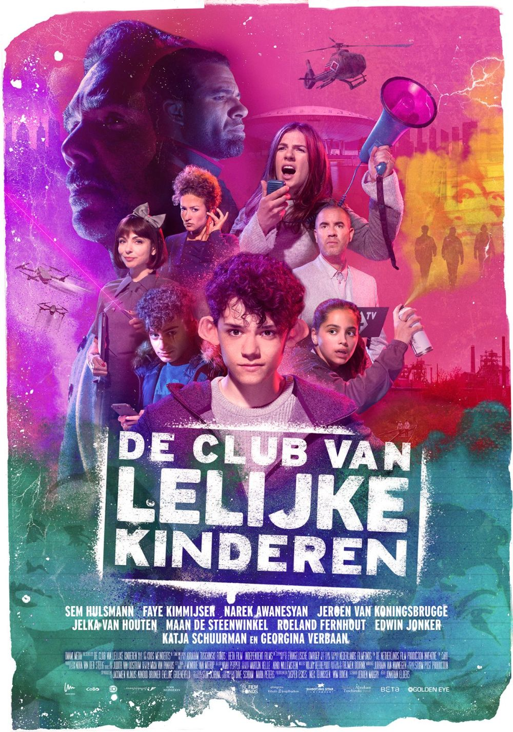 Affiche De Club van lelijke Kinderen