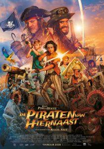 Affiche De Piraten van Hiernaast