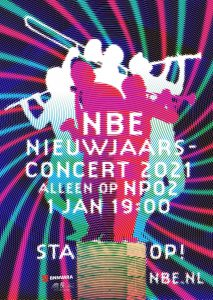 Affiche Nieuwjaarsconcert NBE 2021