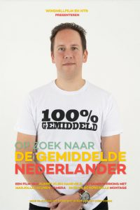Poster Op zoek naar de gemiddelde Nederlander